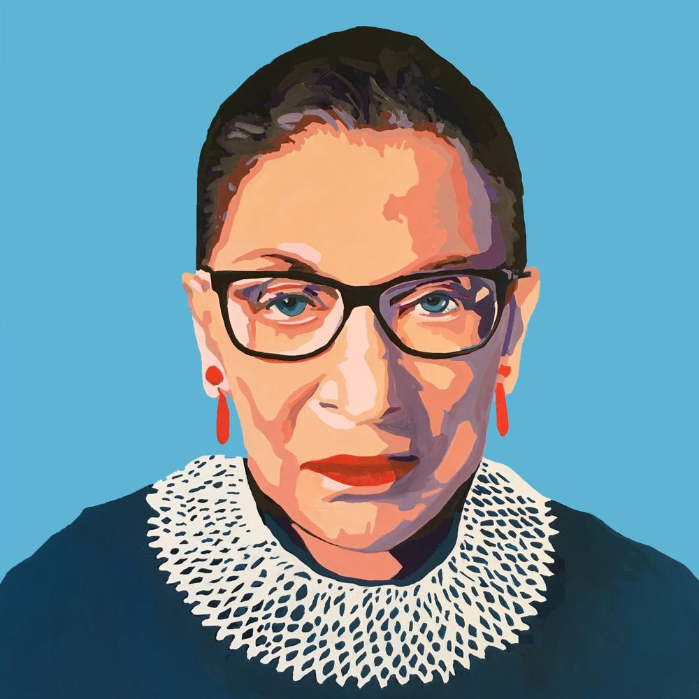 Stone Cold Rbg Mini Art Print By Crystal Moody Without Stand 3 X 4 Moody Art Art Feminist Art