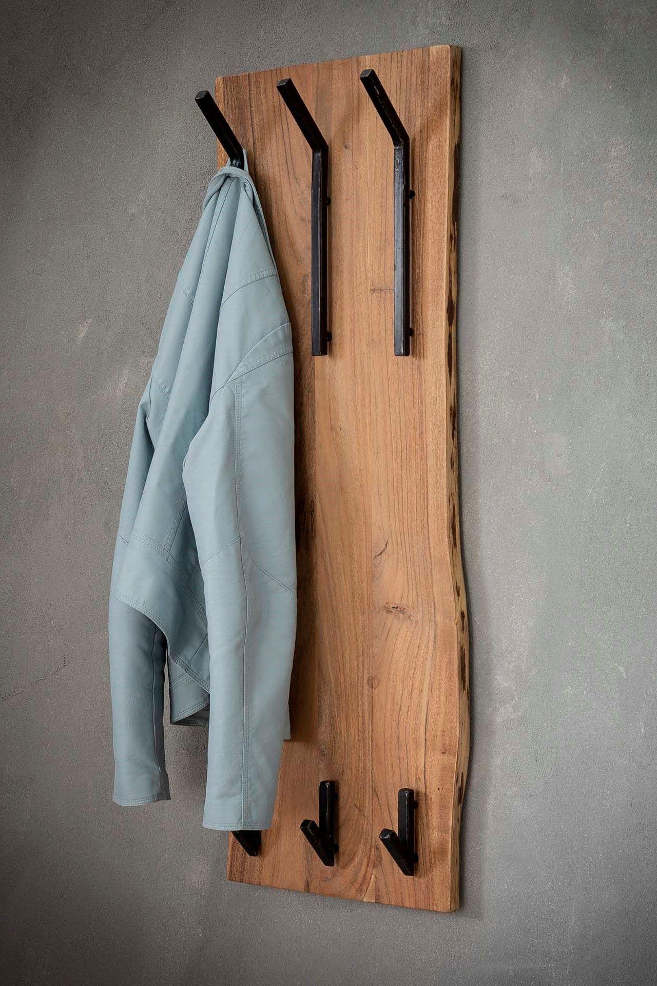Wandgarderobe Paneele Hakenleiste Garderobenleiste Wandpaneele Garderobe Holz