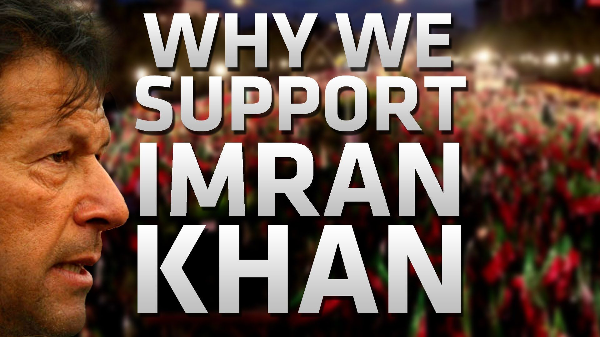 Why We Support Imran Khan Read an excerpt of this speech here: http://www.goharshahi.us/news/view/wh...  His Holiness Younus AlGohar presents explanation for the international community as to why a large majority of Pakistanis support Imran Khan. His Holiness appeals to the international community not to support the corrupt Prime Minister, Nawaz Sharif, and not to mistranslate the situation in Pakistan.