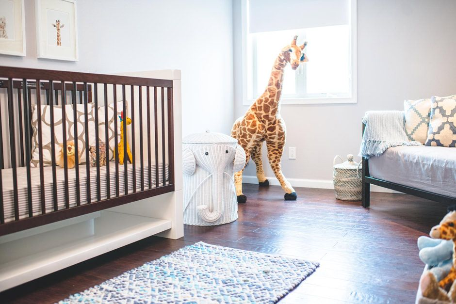 So Many Fun Chic Accents In This Modern Safari Nursery