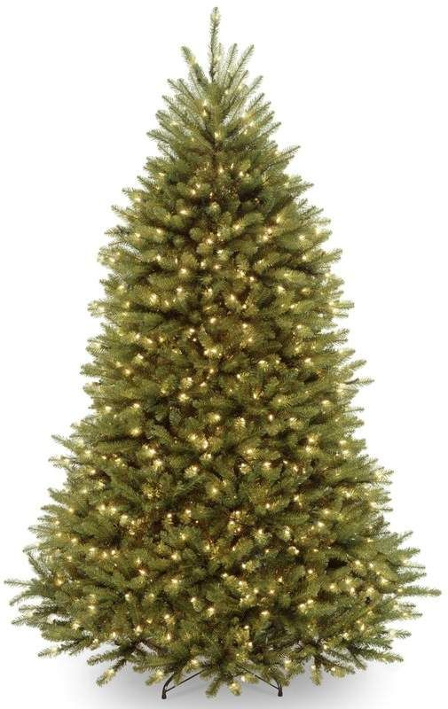 Laurel Foundry Modern Farmhouse Hinged 7 Green Fir Artificial Christmas Tree With 700 Artificial Christmas Tree Pre Lit Christmas Tree National Christmas Tree
