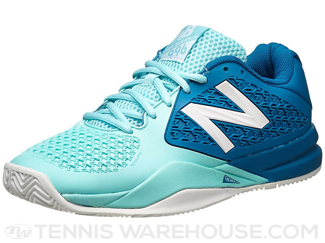 Quagga Perseo marioneta  New Balance WC 996v2 B Lt. Blue/Blue Women's Shoe   Stylish tennis shoes,  Shoe reviews, Women shoes