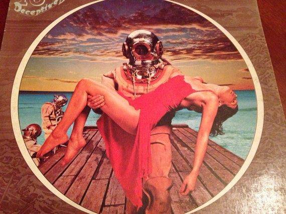 1977 Album 10cc Deceptive Bends By Mercury By Favoritefrolic Cool Album Covers Album Cover Art Rock Album Covers