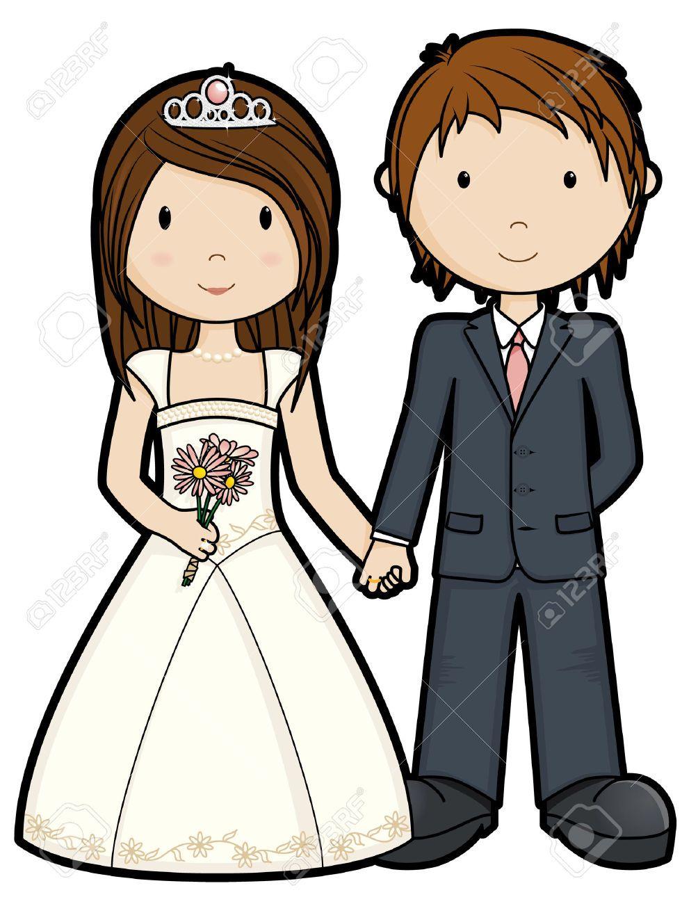 just married isolated weddings cartoon pinterest just rh pinterest com wedding couple clipart png married couple clip art picture