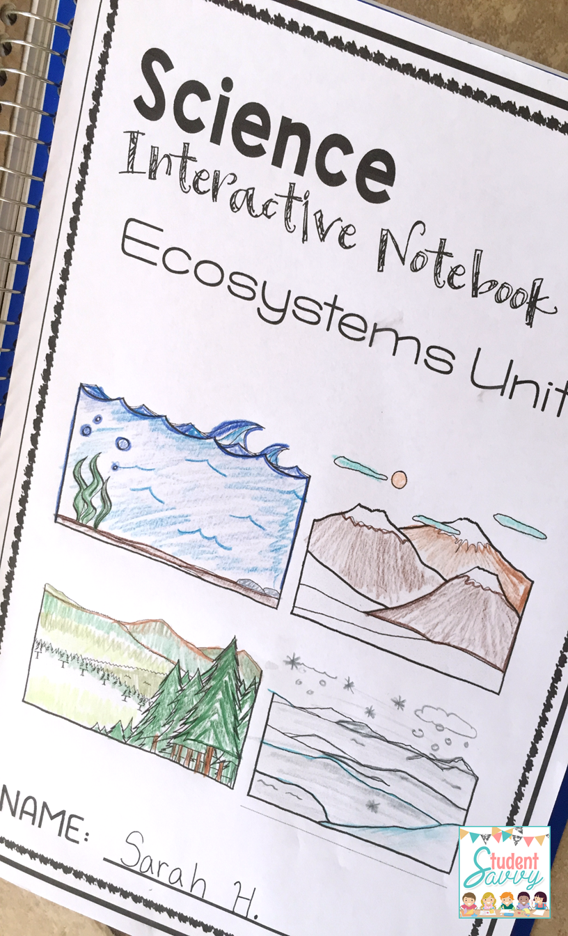 ecosystems interactive notebook. Black Bedroom Furniture Sets. Home Design Ideas