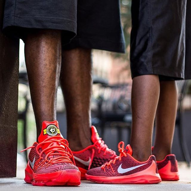 """The KD8 ""V8"" on looks awesome foot from both @police_nupejr & @police_nupe! -@kicks4eva"""
