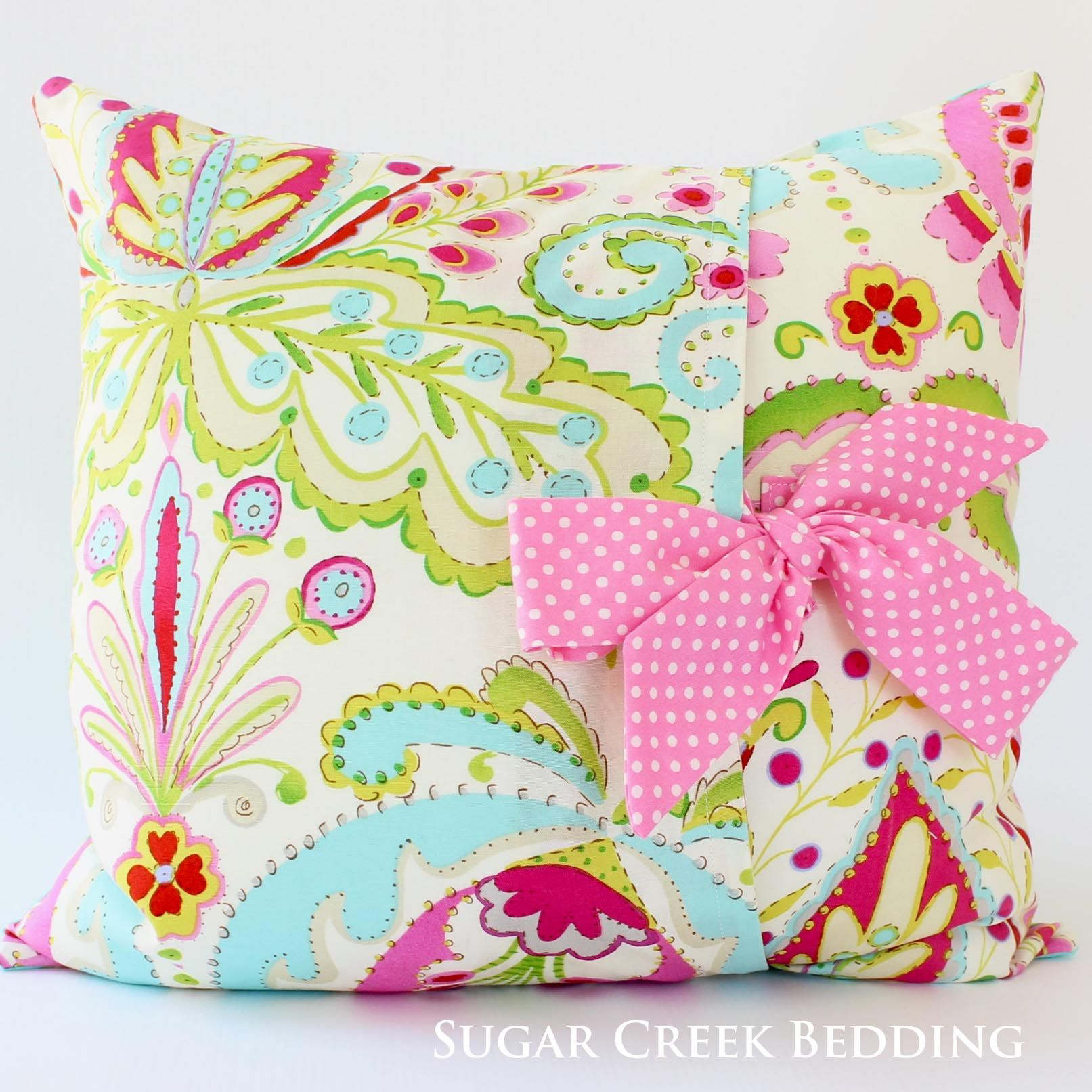 pillowcase celebrate with ruffles simple ruffled to handmade pillow edges and pinned shabby design pillows chic hgtv make