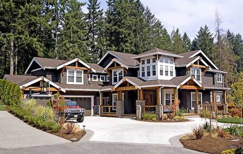 Plan 2380jd Craftsman Delight With Wraparound Porch Craftsman Style House Plans Craftsman House Craftsman House Plans