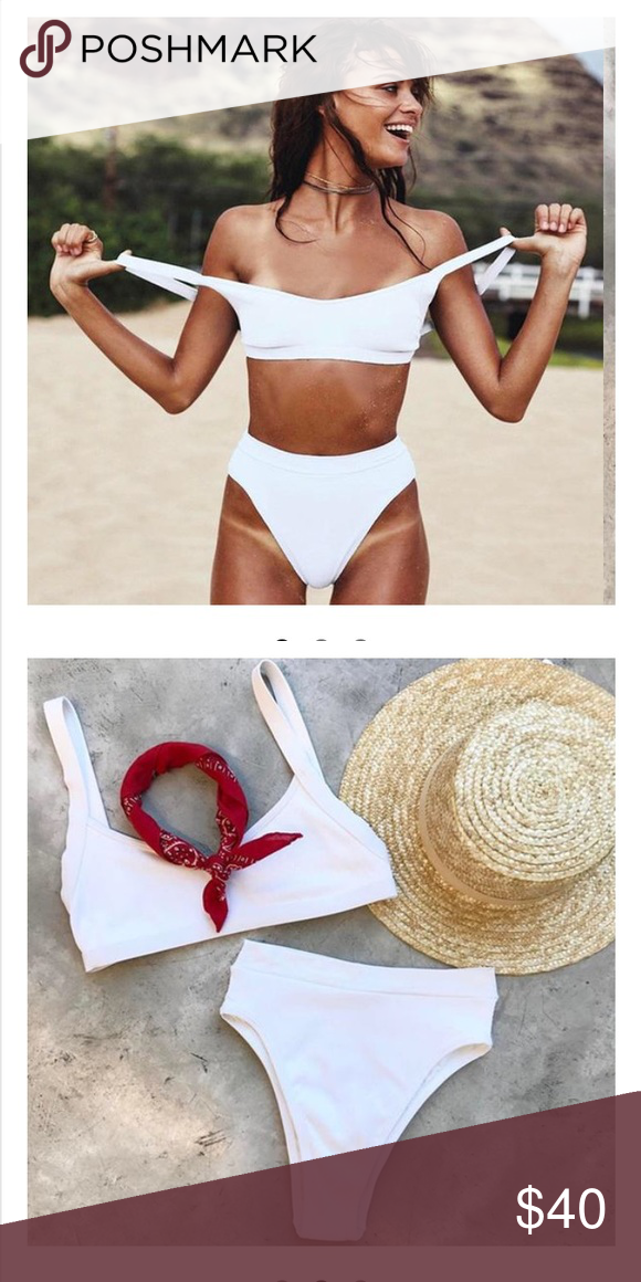 66549bf9d4733 High waisted Bathing Suit Brand new in packaging. Good quality. True to size  Swim Bikinis