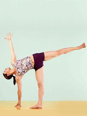 half moon pose  yoga poses ayurveda yoga yoga journal