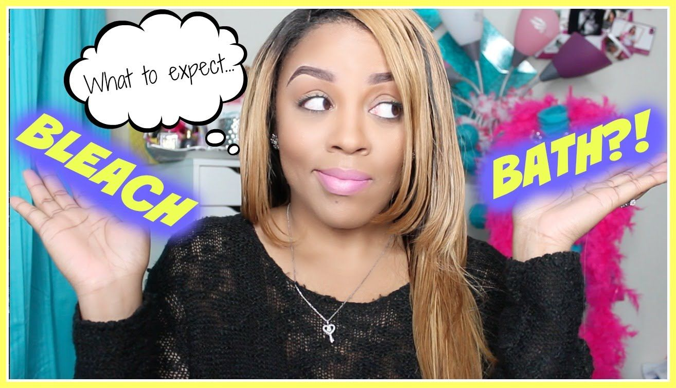 What To Expect After A Bleach Bath Hair Care Maintenance