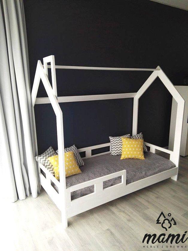 Kinderbett Naturholz Bett Ohne Matratze Ohne Dekoration