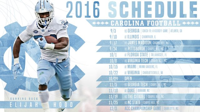 2016 Football Schedule Announced Football Carolina Football