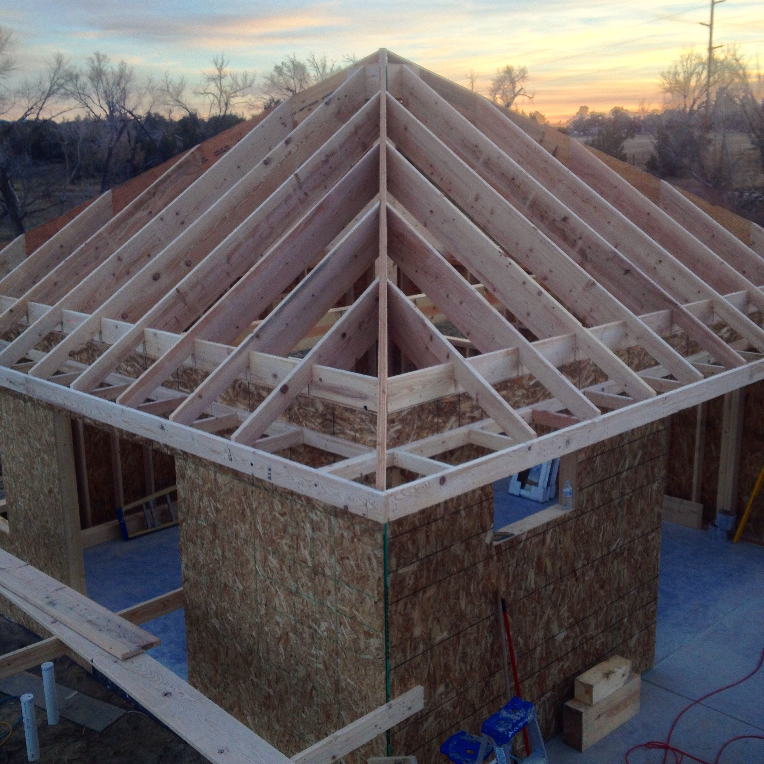 Finished Roof Framing Completing The Soffit And Fascia