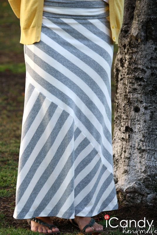 Tutorial Tuesday :: Mismatched Maxi Skirt from iCandy Handmade