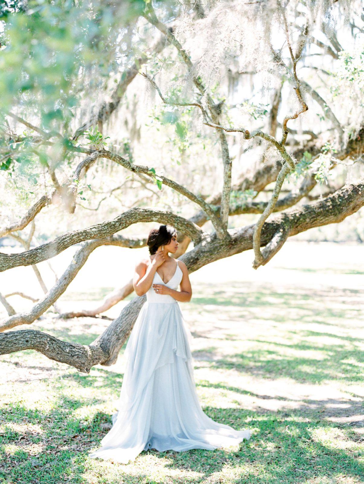 Charleston bridal middleton place wedding classic bridal