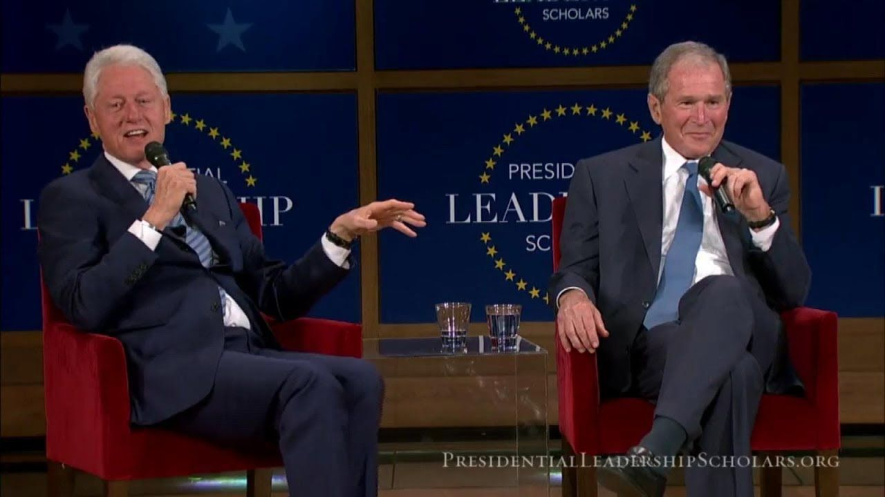 George W Bush Bill Clinton Conversation On Leadership From The