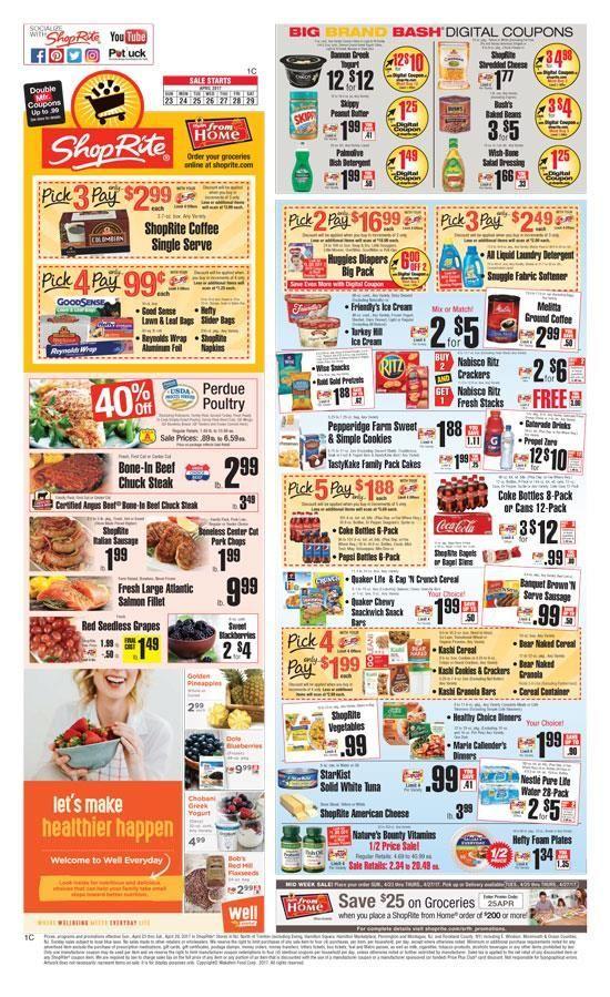 ShopRite Weekly Ad Circular 4/23