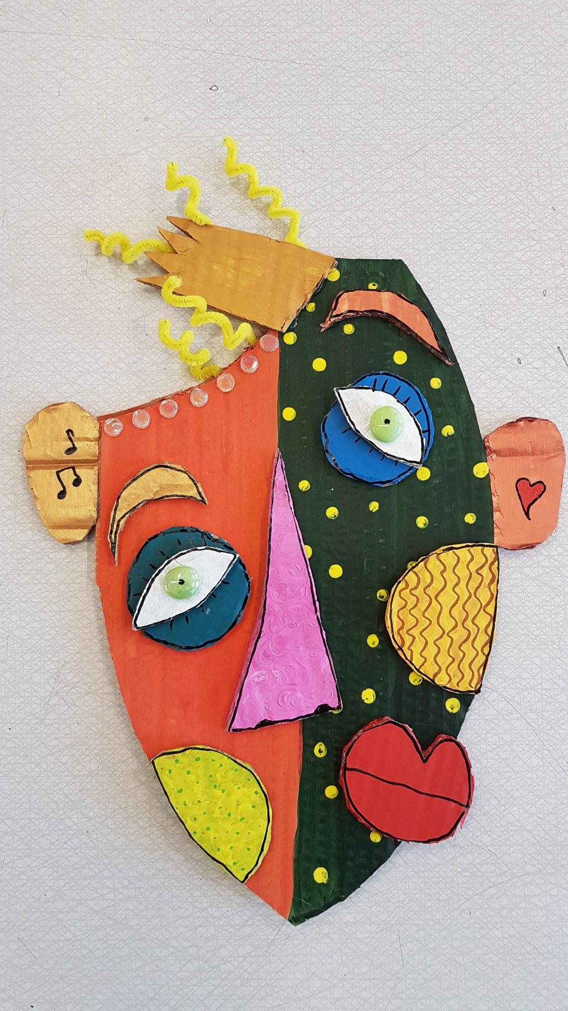 pingl par florence carlier sur masques arts visuels art plastique et bricolage. Black Bedroom Furniture Sets. Home Design Ideas