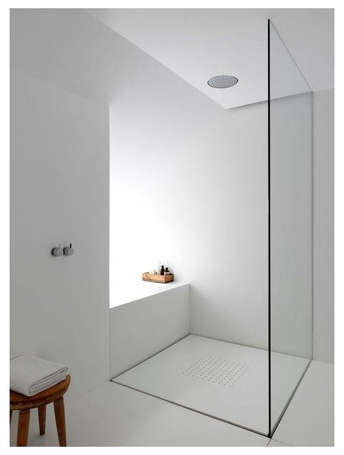Photo of minimal shower design