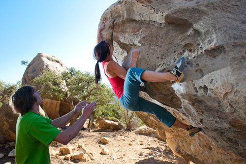 How and Why to climb more like a dude.