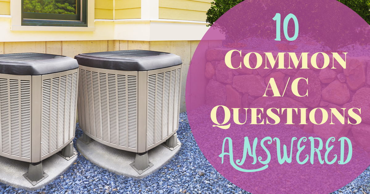 10 Common A C Questions Answered This Or That Questions Heating
