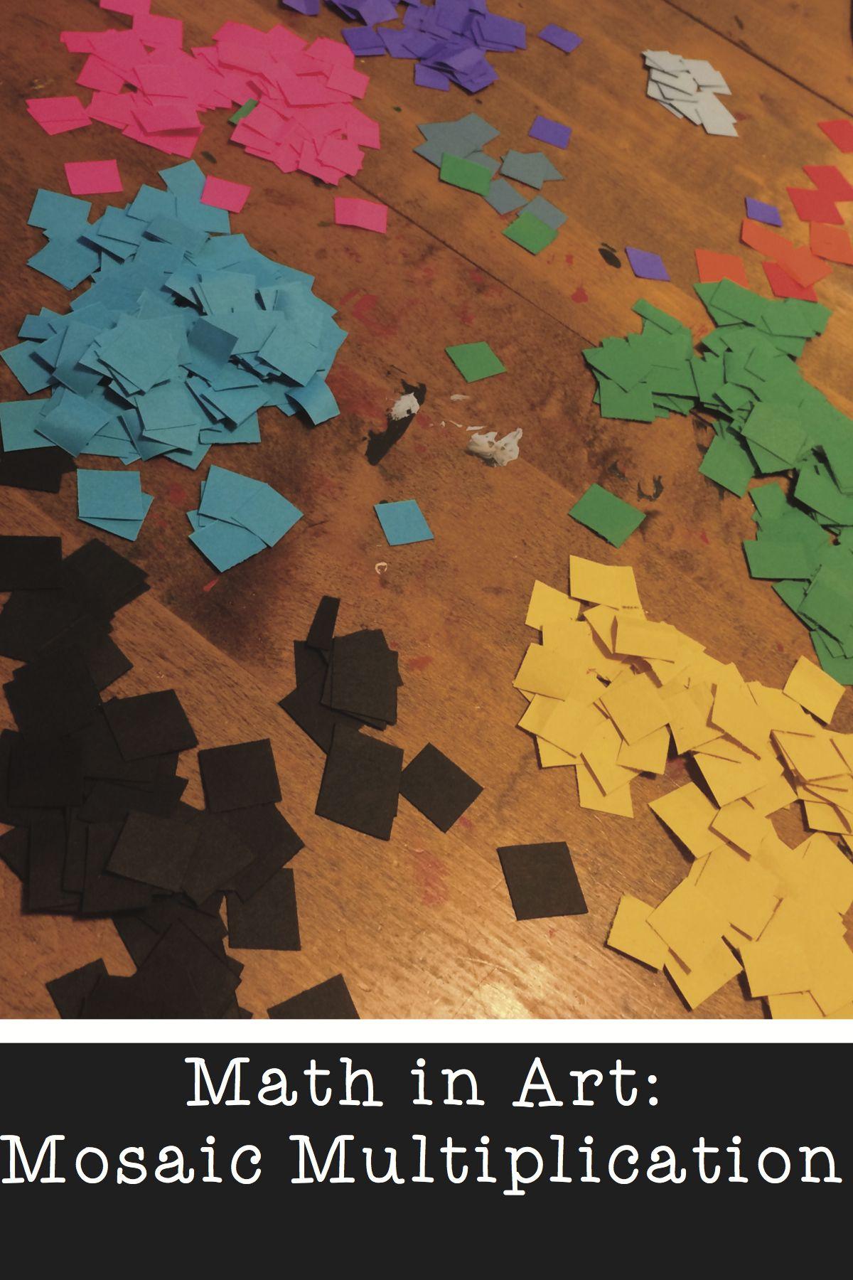 Math In Art Multiplication Mosaic Blog Article
