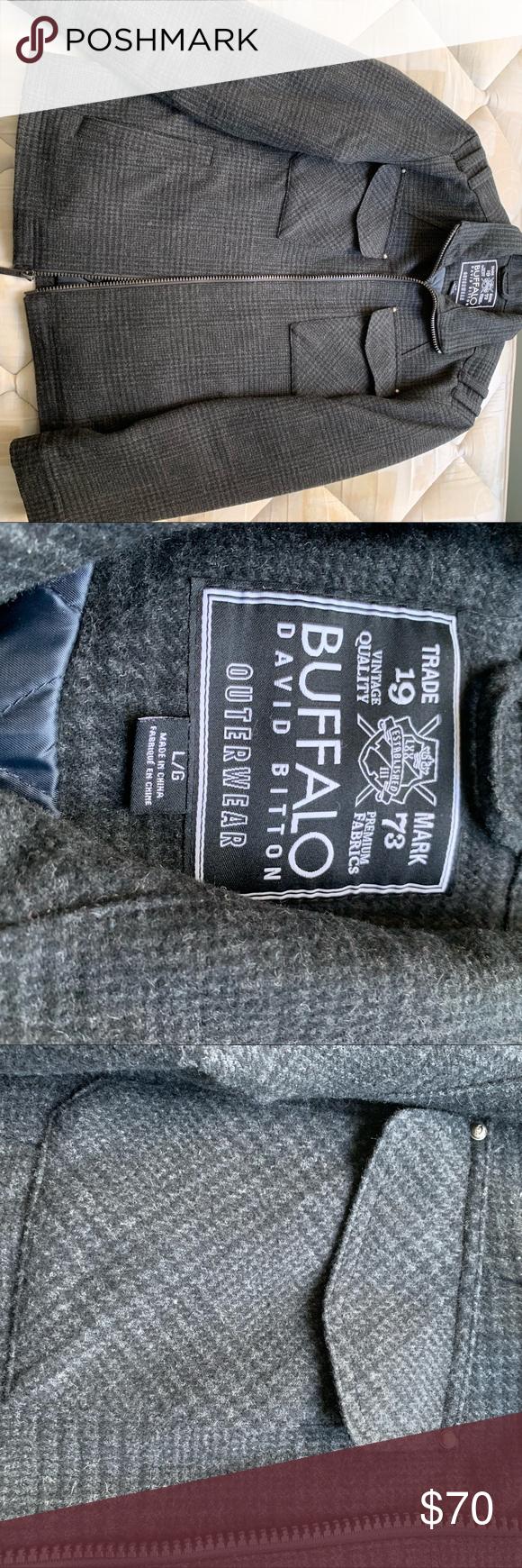 Nwot Buffalo David Bitton Wool Jacket Buffalo David Bitton Wool Jacket Nwot [ 1740 x 580 Pixel ]