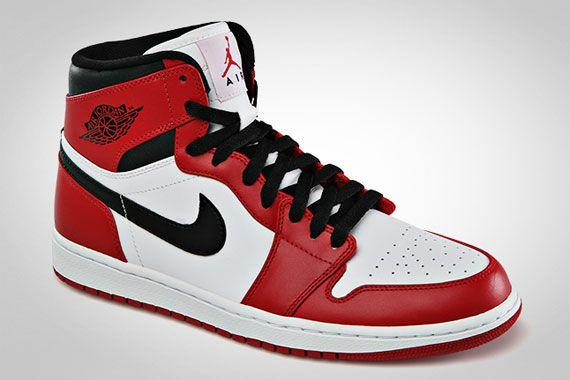 Air Jordan 1 High White Varsity Red Black Air Jordans Air