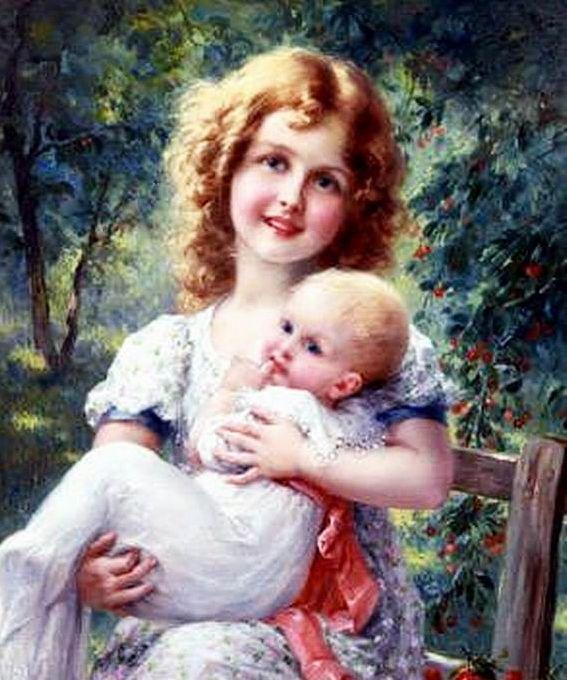 Beautiful painting by Émile Vernon