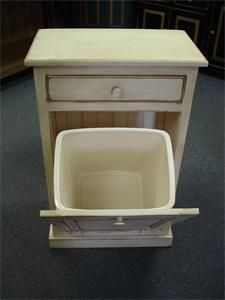 trash can furniture ideas no more need for ugly plastic trash can with this solid wood tilt out cabinet amish pine tilt out trash bin cabinet drawer executive office
