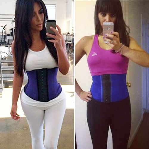 We Tried Kim Kardashian's Waist-Training Corset and This ...