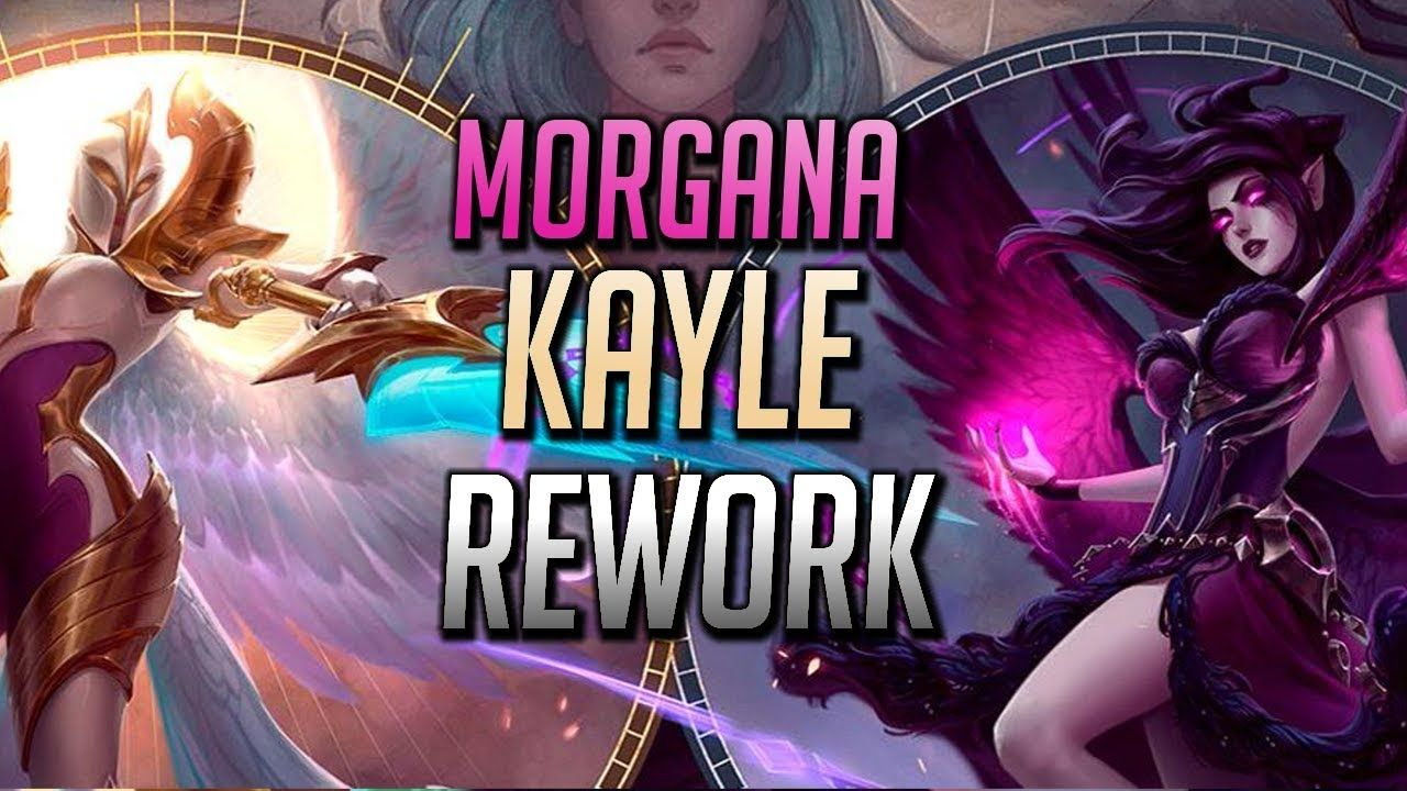 New Morgana And Kayle Rework Teaser Abilities Showcase Reveal