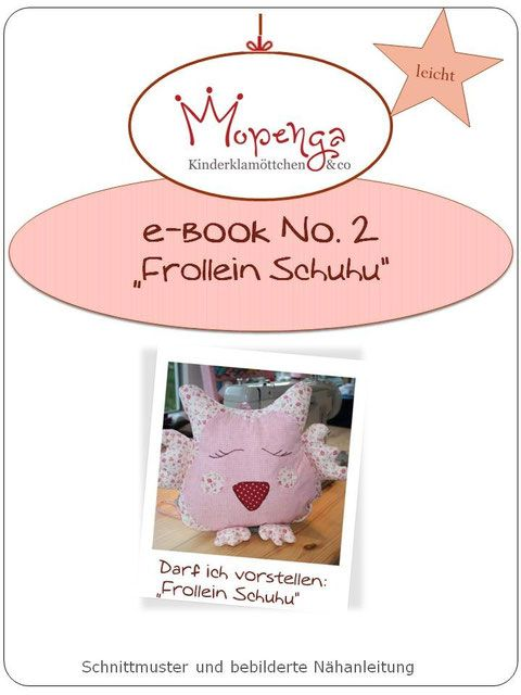 Freebook Frollein Schuhu - Mopenga - Kinderklamöttchen & co