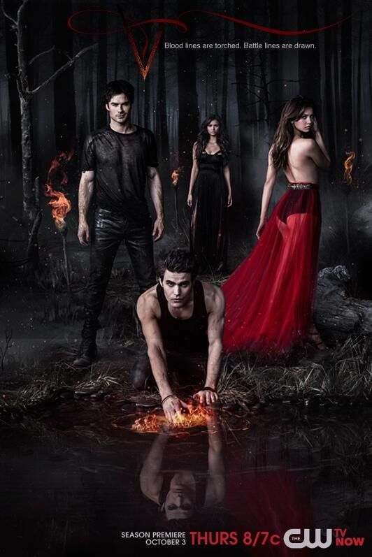 The Vampire Diaries Season 5 Promo Vampire Diaries Season 5 Vampire Diaries Poster Vampire Diaries Wallpaper
