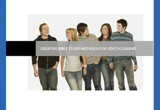 Ideas for leading a young people's study group