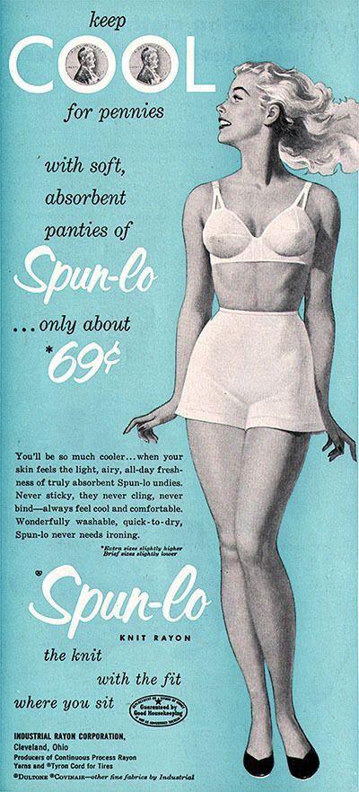 Spun-lo panties (1953)