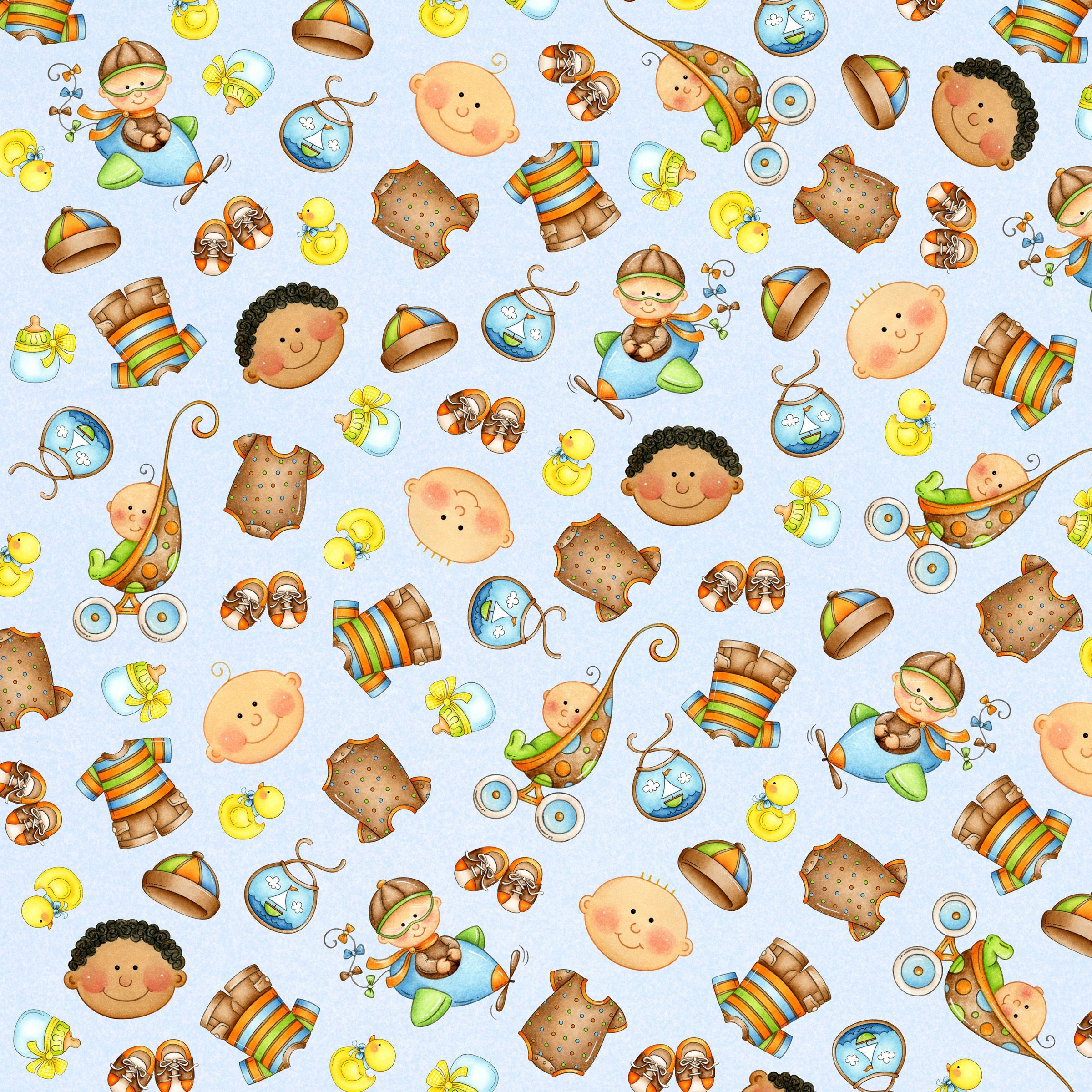 Papel decorado de bebes casas pinterest papel bebe - Hojas decoradas para ninas ...