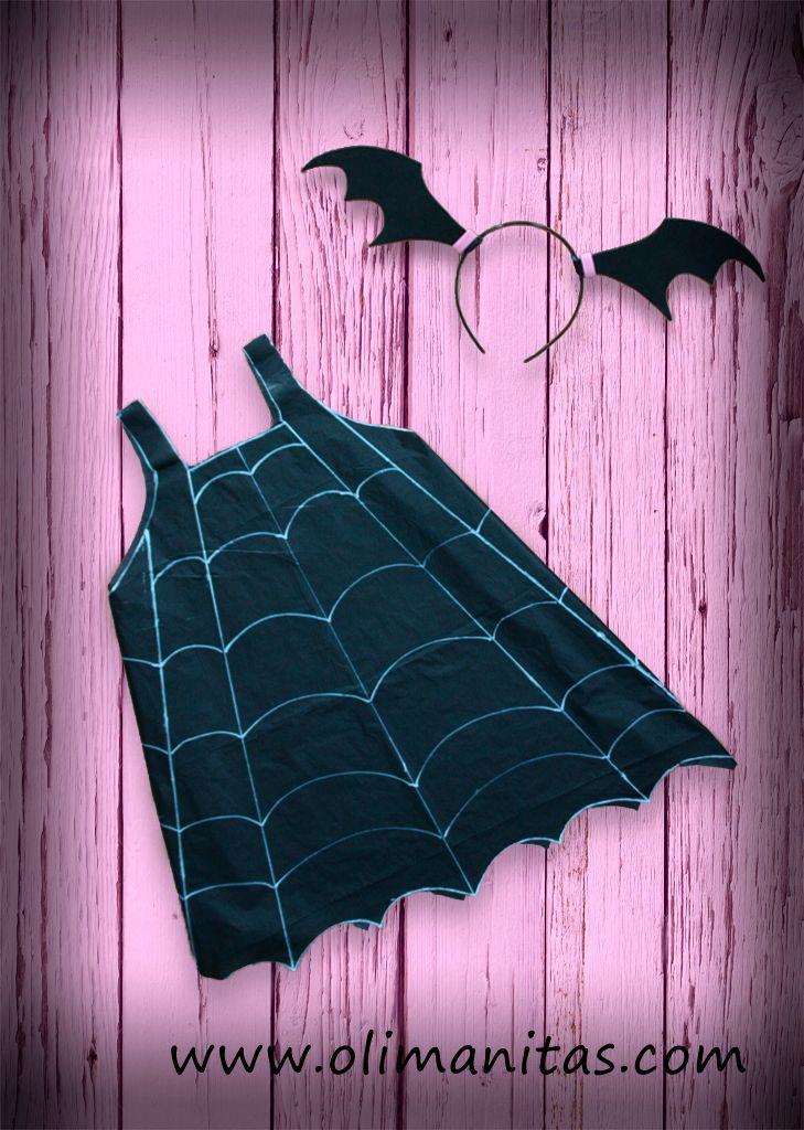 Disfraz de Vampirina casero. Sigue este tutorial sencillo