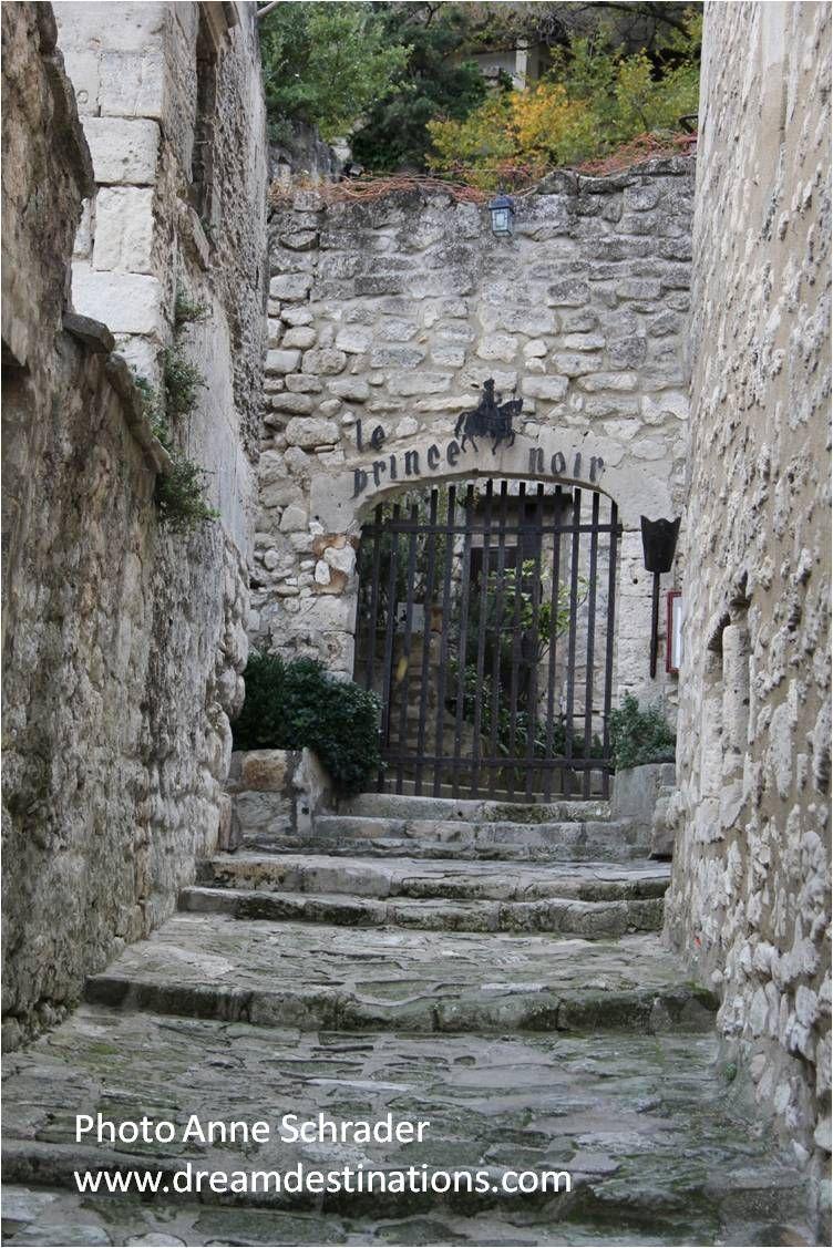 Exceptional Entrance To The Prince Noir Bed U0026 Breakfast Les Baux De Provence France.