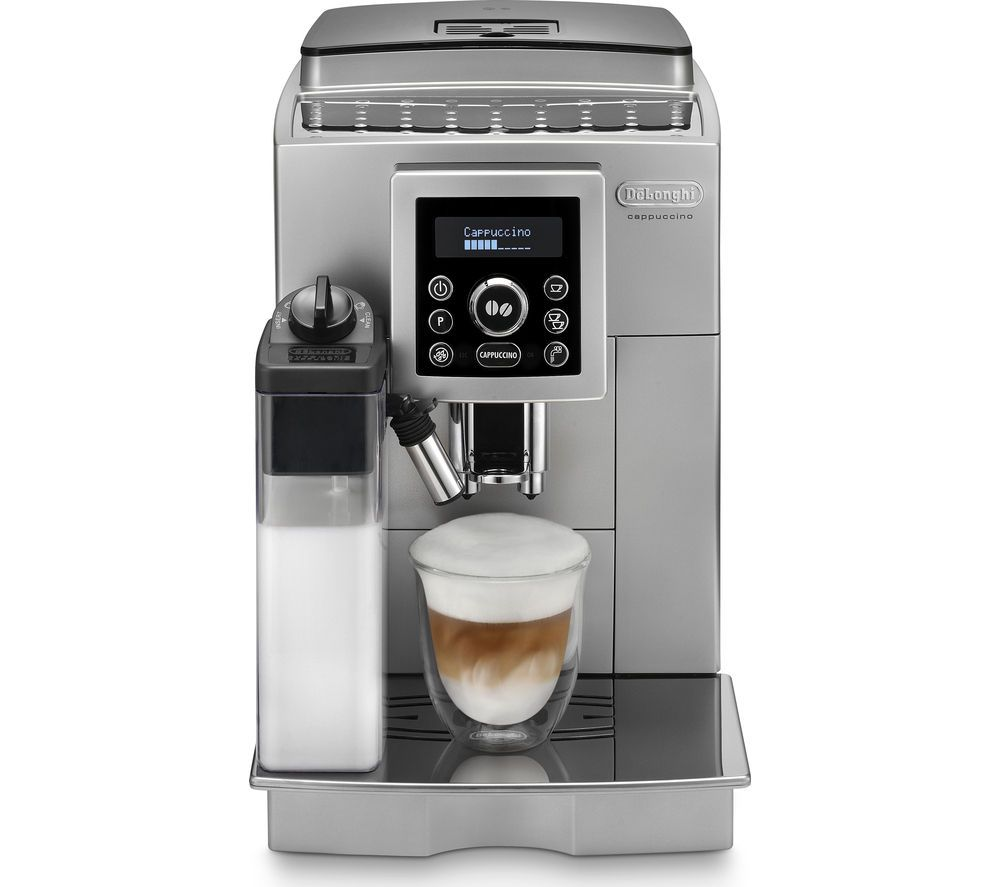Coffee To Cup Machines Part - 18: ECAM23.460 Bean To Cup Coffee Machine - Silver U0026 Black