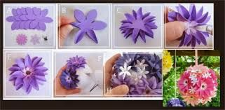 Resultado de imagen para flores de papel de diario