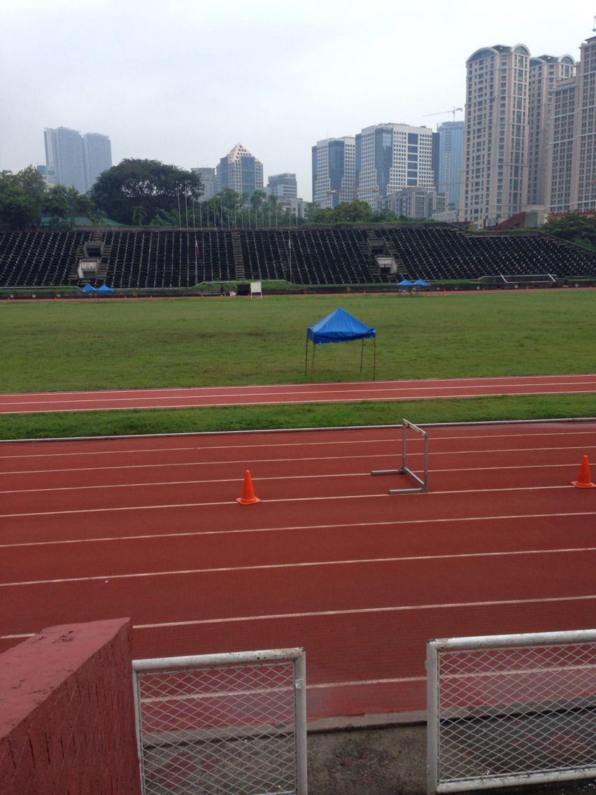 My playground on weekdays Philippine Sports Arena (ultra)
