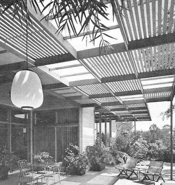 Details About 1973 Build Retro Mid Century Modern Patio