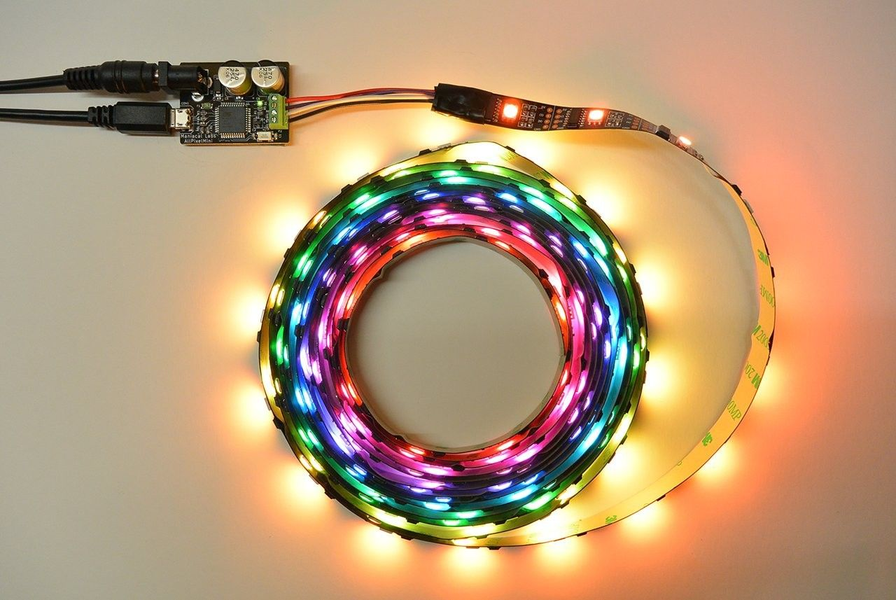 Easy USB control for programmable LED strips *Allpixel Mini