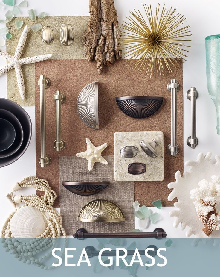 Sea Grass Collection From Amerock Decorative Cabinet Hardware