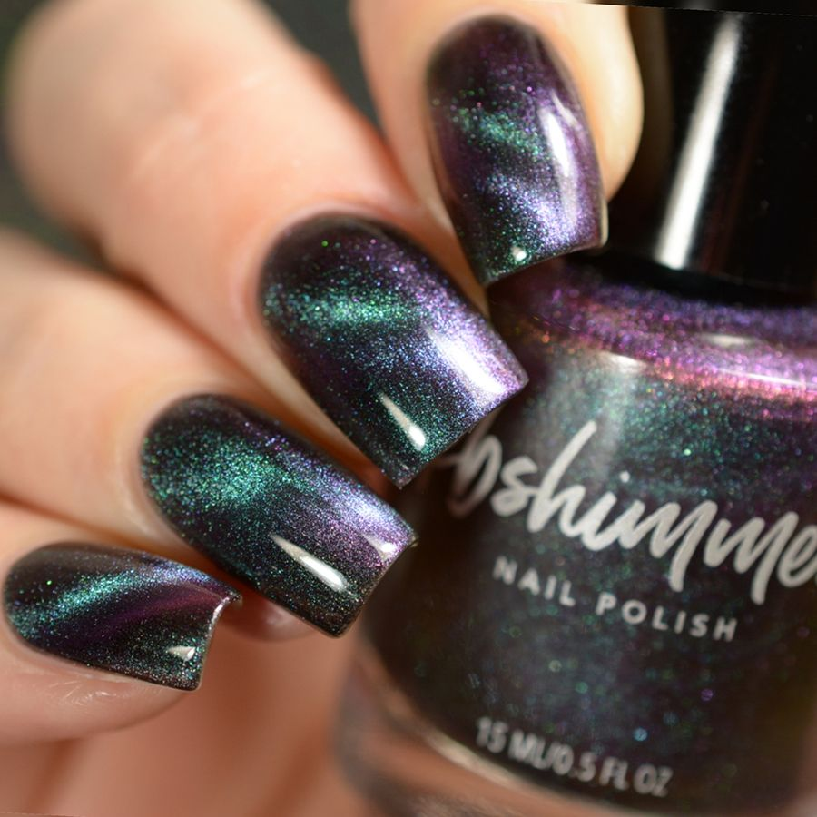 Spaced Out Multichrome Magnetic Nail Polish – Kbshimmer – $10.00