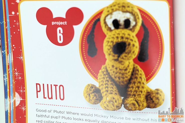 Classic Disney Crochet Patterns and Kit - 12 Characters ...