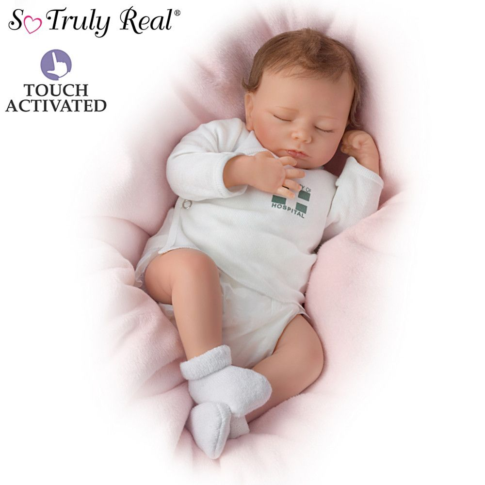 So Truly Real Katie Poseable Baby Doll By Mayra Garza With Images Newborn Baby Dolls Realistic Baby Dolls Silicone Baby Dolls