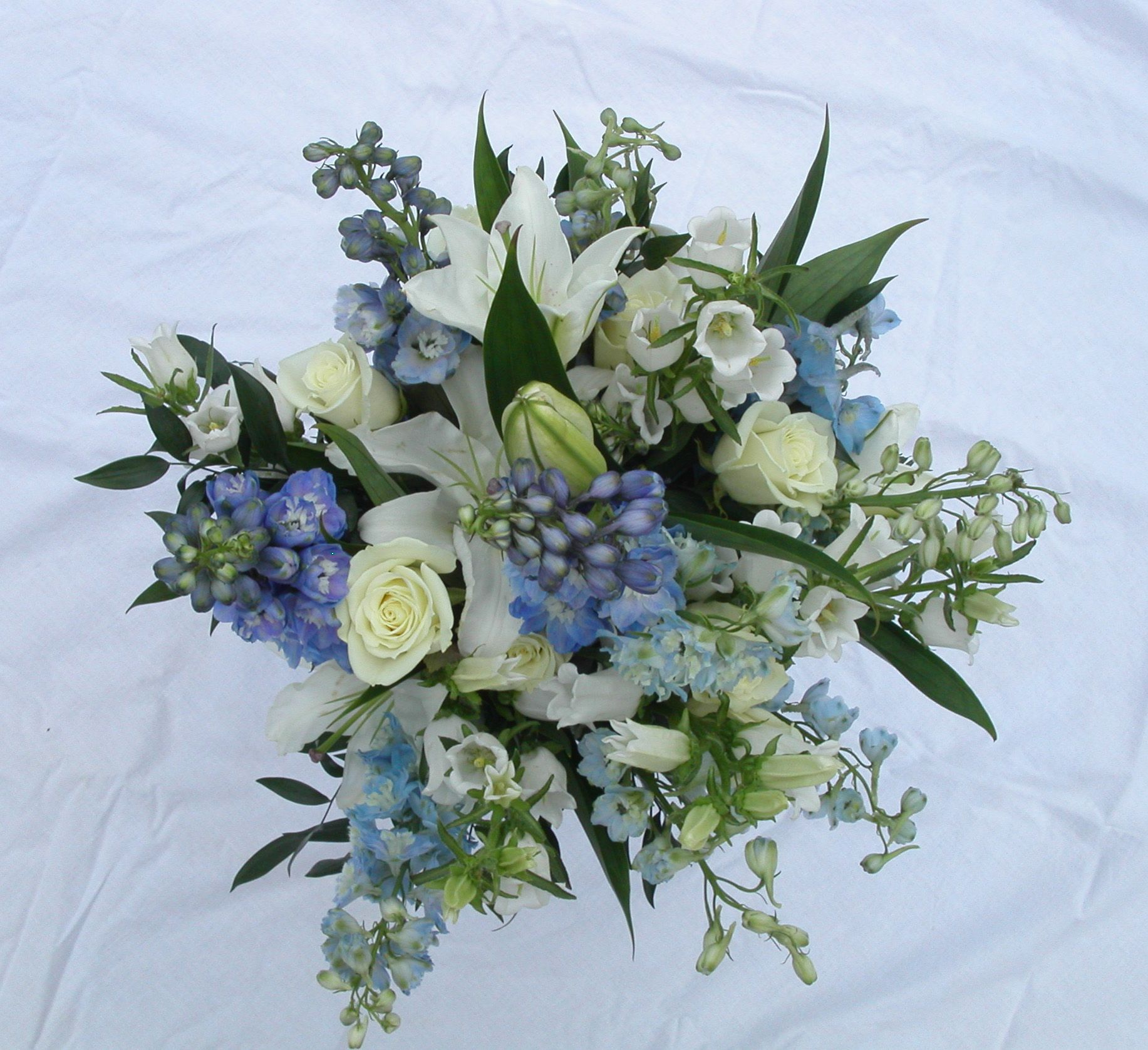 delphinium bouquet - photo #14